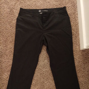 Dickies crafted for women Black size 18W pants